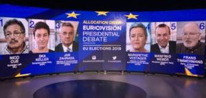 Live: Το debate των υποψηφίων για την Προεδρία της Ευρωπαϊκής Επιτροπής