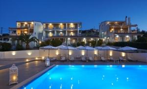 Altamar Hotel: Με φόντο πράσινο-μπλε
