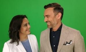 O Γιώργος Καπουτζίδης και Μαρία Κοζάκου ξανά μαζί στο σχολιασμό της Eurovision