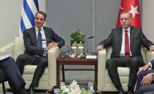 Η Αθήνα δεν αποκλείει συνάντηση Μητσοτάκη - Ερντογάν εφόσον υπάρχει βάση συνεννόησης