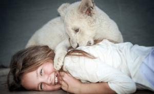 «Το κορίτσι και το λιοντάρι»: πως γυρίστηκε η εντυπωσιακή ταινία