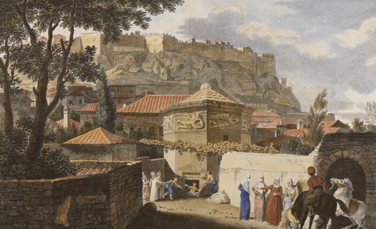 Η Αθήνα από την Ανατολή στη Δύση, 1821-1896