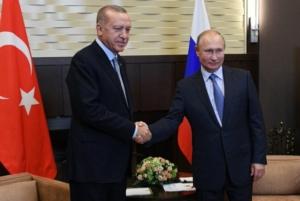 Συμφωνία Πούτιν - Ερντογάν για την απομάκρυνση των Κούρδων από τη βόρεια Συρία