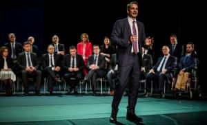 Μητσοτάκης: Η ΝΔ ήταν η παράταξη που κράτησε την Ελλάδα στην Ευρώπη