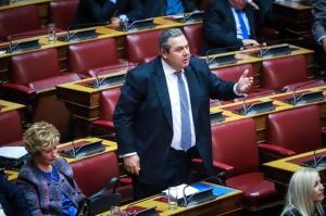 Καμμένος: Αποχωρούμε από την κυβέρνηση εάν η Συμφωνία των Πρεσπών έρθει στη Βουλή