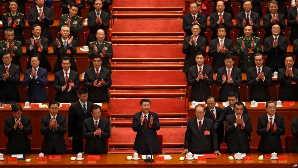 Αποτέλεσμα εικόνας για Σι Ζινπίνγκ συνέδριο