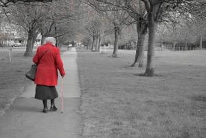 Σούπερ γιαγιά προσπαθεί να διασχίσει τον δρόμο - δείτε τι γίνεται