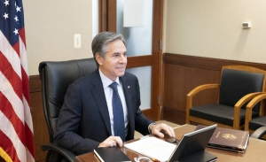 Στη συνεδρίαση του Συμβουλίου Εξωτερικών Υποθέσεων της ΕΕ, ο νέος Υπ.Εξωτερικών των ΗΠΑ