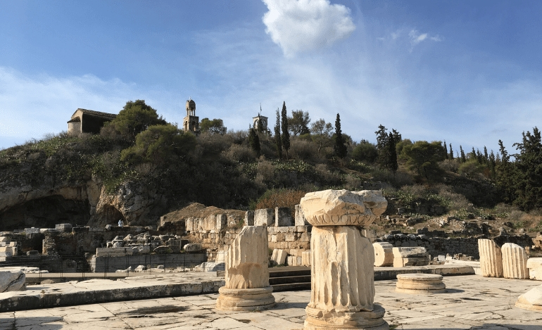 «Περσεφόνη» του Ρίτσου στον Αρχαιολογικό χώρο της Ελευσίνας