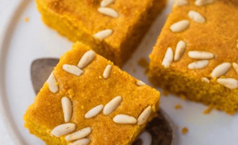 Σφουφ (κέικ με κουρκουμά)