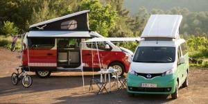Καλοκαίρι στη Μαδρίτη με δύο Nissan Camper van