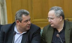 Ο Κοτζιάς προειδοποιεί τον Τσίπρα ότι ο Καμμένος είναι πεθαμένος πολιτικά