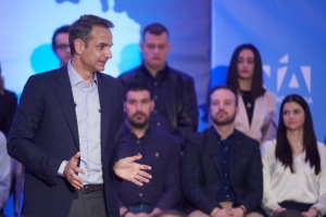 Μητσοτάκης: «Οι ευρωεκλογές είναι το πρώτο ημίχρονο»