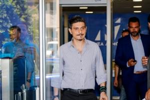 Συνάντηση του Κυριάκου Μητσοτάκη με τον Δημήτρη Γιαννακόπουλο