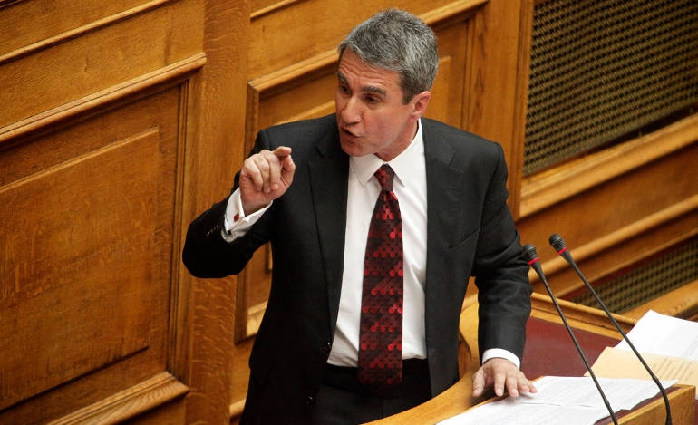 H συζήτηση στη βουλή για την άρση ασυλίας Λοβέρδου (live)