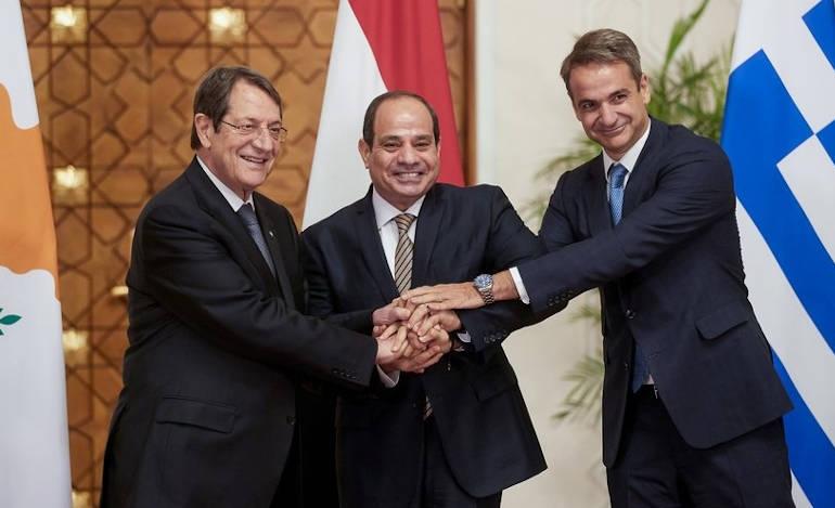 Αξονας συνεργασίας στην Ανατολική Μεσόγειο