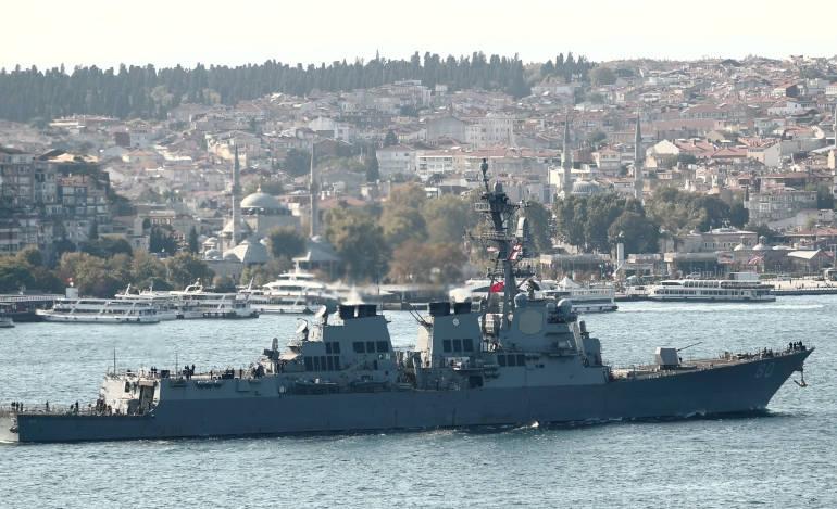 Κλιμακώνεται η ένταση στη Μαύρη Θάλασσα - Για διαβουλεύσεις ανεκλήθη ο πρέσβης των ΗΠΑ στη Μόσχα