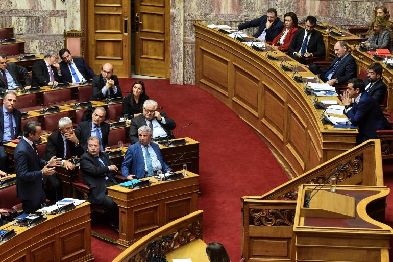 Kόντρα Τσίπρα - Μητσοτάκη στη Βουλή για τη Συνταγματική Αναθεώρηση