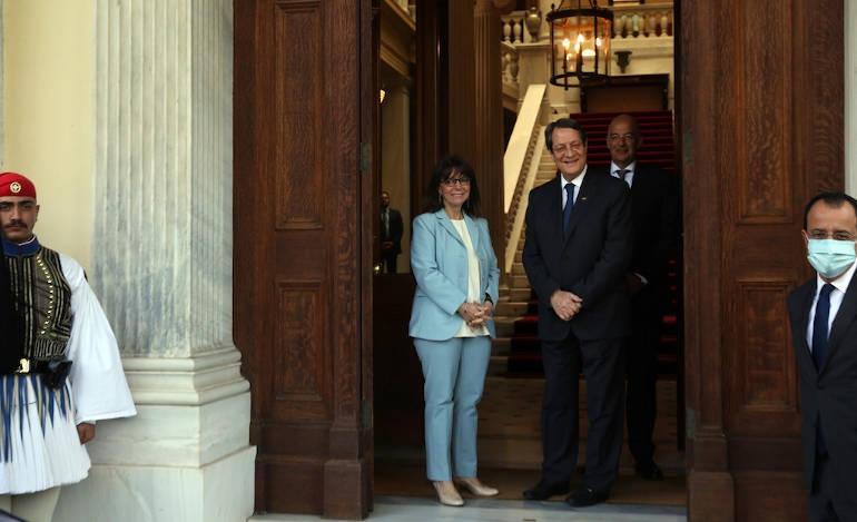 Τριήμερη επίσκεψη Σακελλαροπούλου στην Κύπρο