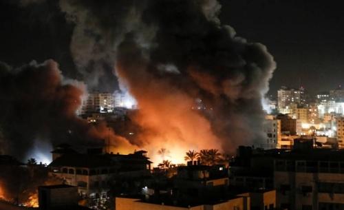 Με βομβαρδισμούς στη Γάζα ξεκίνησε ο διάδοχος Νετανιάχου