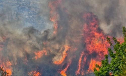 Βελτιωμένη η εικόνα της φωτιάς στην Αχαϊα - Μεγάλος κίνδυνος σε 4 περιφέρειες