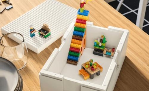 Η ΙΚΕΑ® και η LEGO® παρουσιάζουν τη νέα σειρά BYGGLEK