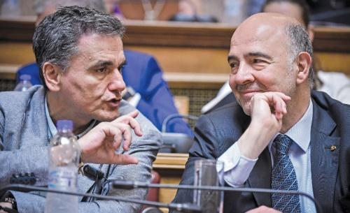 Από τη φλυαρία του Μοσκοβισί στην αυστηρή πειθαρχία του Eurogroup