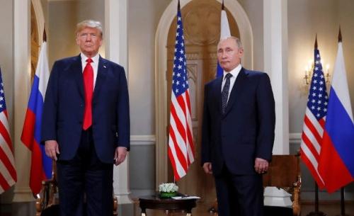 Τραμπ: Οι σχέσεις μας άλλαξαν πριν από 4 ώρες - Πούτιν: Ήθελα να κερδίσει στις εκλογές