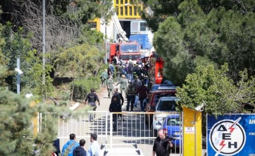Κρήτη: Αποκαταστάθηκε πλήρως η ηλεκτροδότηση μετά από μεγάλη έκρηξη σε υποσταθμό της ΔΕΗ
