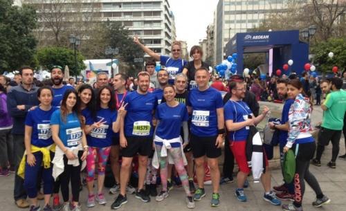 Η AbbVie Running Team έτρεχε στον ημιμαραθώνιο για τα άτομα με φλεγμονώδη νοσήματα του εντέρου
