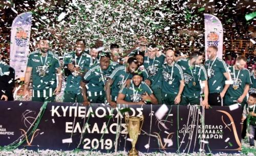 Κυπελλούχος Ελλάδας ο Παναθηναϊκός - Επικράτησε με 79-73 του ΠΑΟΚ