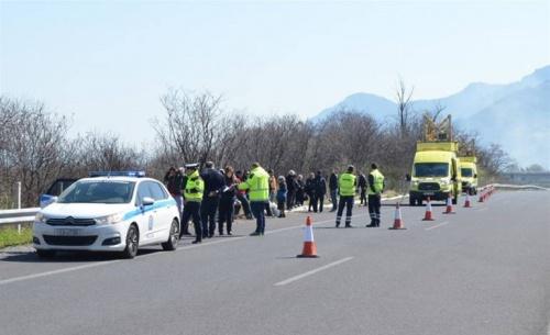 Νέο ατύχημα σε διακίνηση μεταναστών στην Εγνατία Οδό