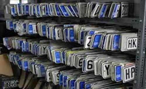 Η ΑΑΔΕ απαντά σε 11 ερωτήσεις για την κατάθεση των πινακίδων των αυτοκινήτων