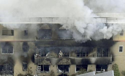 Πύρινος εφιάλτης: 24 νεκροί από εμπρησμό σε στούντιο στην Ιαπωνία (Photo, Video)