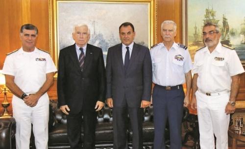 Ο Παναγιώτης Λασκαρίδης στηρίζει ενεργά το Πολεμικό Ναυτικό
