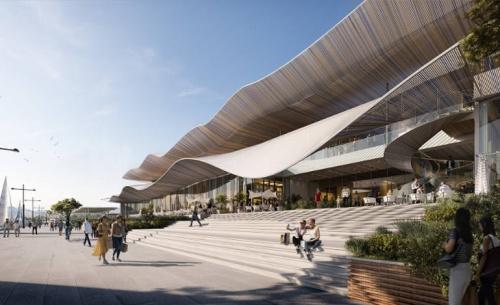 Η Lamda Development παρουσίασε το παράκτιο μέτωπο του Ελληνικού και τη Marina Galleria
