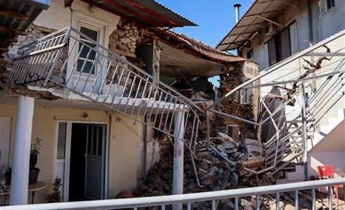Εκτεταμένοι έλεγχοι στις περιοχές του σεισμού