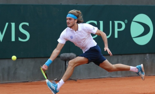 Με νίκη ξεκίνησε η Εθνική μας ομάδα στο Davis Cup