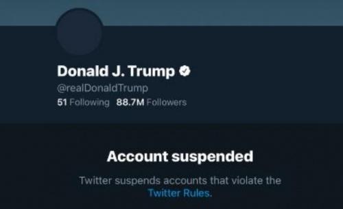 Η ευκολία των μέσων κοινωνικής δικτύωσης να αποκλείσουν τον Τραμπ, προβληματίζει την Ευρωπη