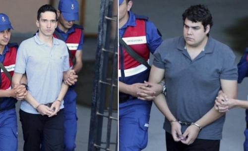 Απορρίφθηκε και το νέο αίτημα για αποφυλάκιση των δυο στρατιωτικών στην Τουρκία