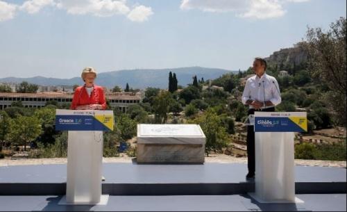Από την Αρχαία Αγορά της Αθήνας, η ΕΕ ξεκίνησε ξανά προς το νέο της κοινό μέλλον
