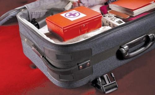Το φαρμακείο των διακοπών έχει θέση στις αποσκευές μας