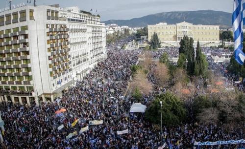 Πολιτικά χαρακτηριστικά στη συμμετοχή στο συλλαλητήριο
