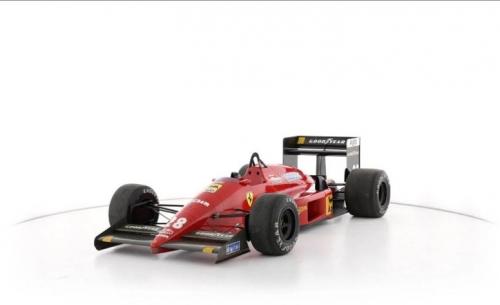 Πωλείται η Ferrari F1/87, η τελευταία που φτιάχτηκε με τον Enzo εν ζωή