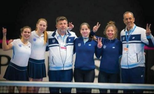Δυνατή προσπάθεια της εθνικής μας ομάδας γυναικών τένις στην Εσθονία