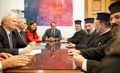 Μητσοτάκης: Δεν θα αποδεχτούμε την εργαλειοποίηση των κληρικών από τον κ. Τσίπρα