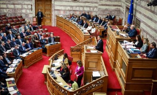 Σύγκρουση Τσίπρα - Μητσοτάκη στην Βουλή για συντάξεις και Σκοπιανό